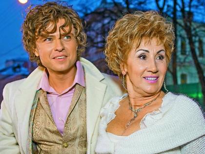 Прохор Шаляпин со своей официальной женой, бизнесвумен Ларисой Копенкиной