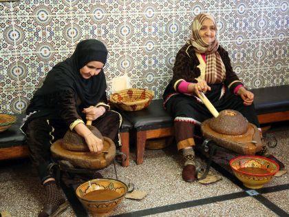 Приготовление таджина