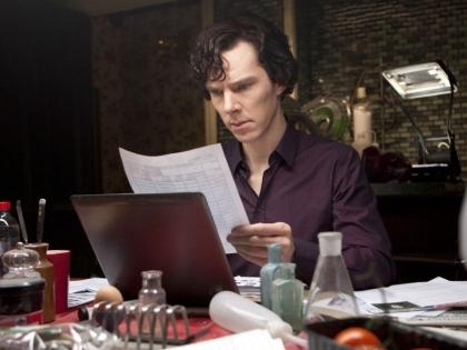 """Не менее популярен и британский """"Шерлок"""" с Бенедиктом Камбербэтчем"""