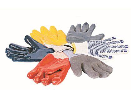 Перчатки бывают разные: черные, белые, красные.