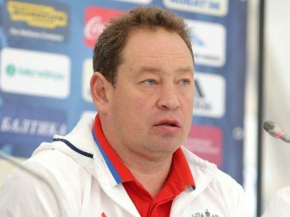 Бывший тренер сборной России по футболу Леонид Слуцкий