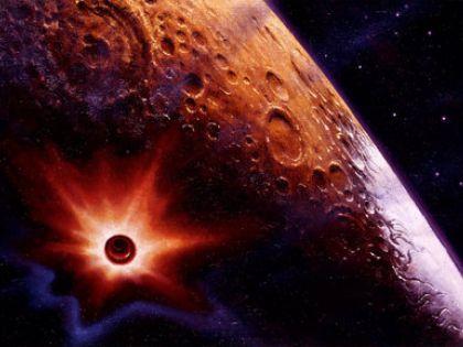 Луну уничтожит белый карлик, в которого превратится Солнце