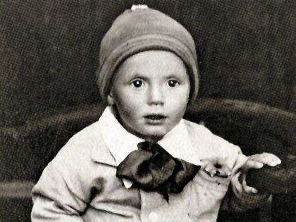 Юрий Мефодьевич в детстве