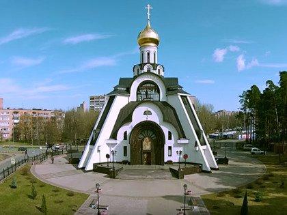 Собор иконы Божией Матери «Неопалимая Купина» снаружи не похож на стандартный православный храм