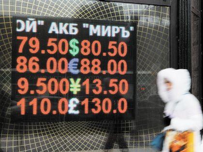 Еще чуть-чуть и доллар будет стоить 100 рублей