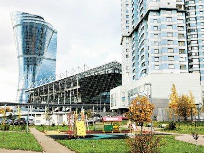 Новый стадион ЦСКА в Москве