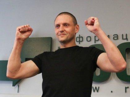 Сергей Удальцов на пресс-конференции