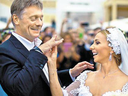 Свадьбу Пескова и Навки обсуждала вся страна