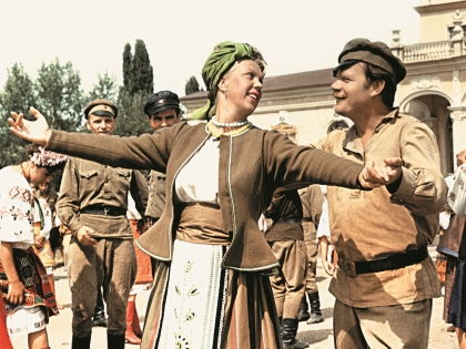 В комедии «Свадьба в Малиновке» Михаил Иванович сыграл Яшку-артиллериста