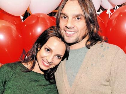 Светлана Светикова и ее муж Алексей Полищук