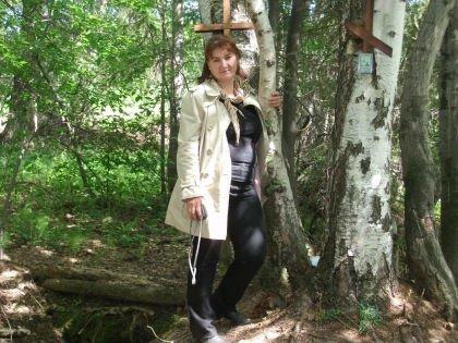 Жительница поселка Пригородный Светлана Грабо