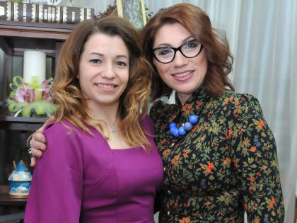 Роза Сябитова и её дочь Ксения Снеткова