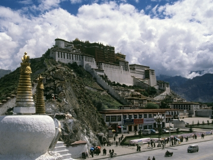 Загадочный Тибет притягивает к себе многих путешественников