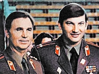 Виктор Тихонов и Владислав Третьяк