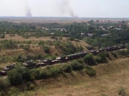 На российско-украинской границе усиливается военная группировка РФ