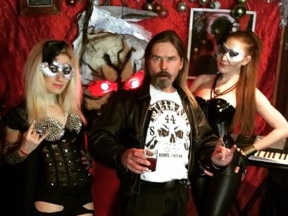 Лидер группы «Коррозия металла» Сергей «Паук» Троицкий