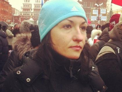 Супруга Сергея Удальцова Анастасия