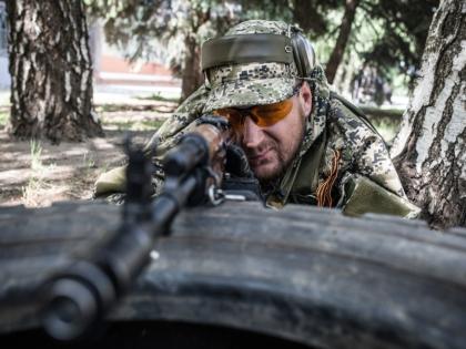 Военнослужащий на Украине