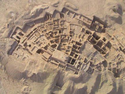 Древний храмовый комплекс в Сирии Телль-Хазна I