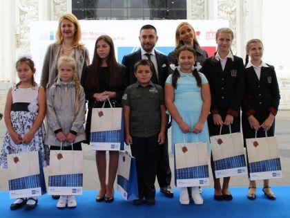 Самым читающим школьникам вручили призы и подарки
