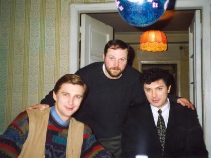 Станислав Кучер, Владимир Кара-Мурза-старший и Борис Немцов