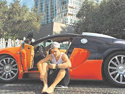 Кокорин – частый клиент проката элитных авто в Дубае