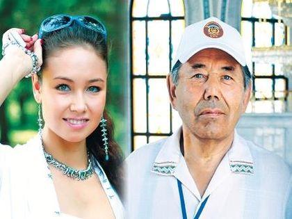 Ляйсан Утяшева и ее дедушка