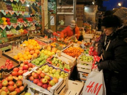 Свежесть продуктов на Преображенском рынке не понравилась активистам