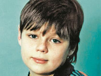 Илья Коробко в детстве