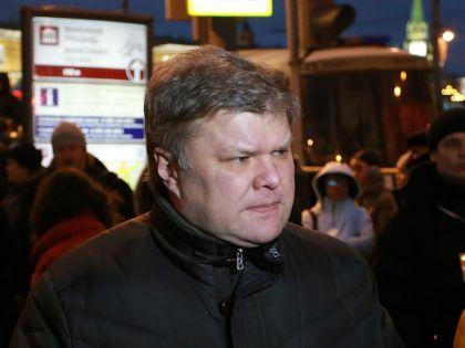 Председатель Российской объединённой демократической партии «Яблоко» Сергей Митрохин