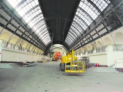 Пустота в павильоне «Космос и машиностроение»
