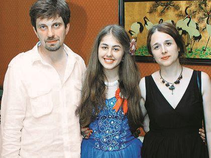 Октавиан и Виталия с дочерью Катей