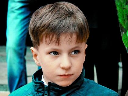 Внук Валерия Баринова