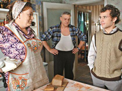 В «Восьмидесятых» актриса отлично сработалась с Александром Половцевым