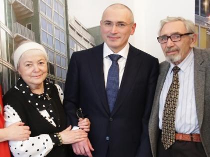 Михаил Ходорковский с родителями