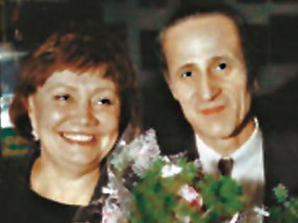 Лариса Анатольевна с четвёртым мужем Вячеславом Матвеевым