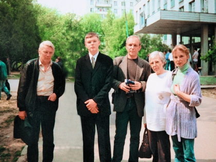 Семья Юрия Назарова
