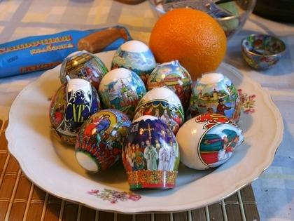 Крашеное яйцо – символ зарождения новой жизни