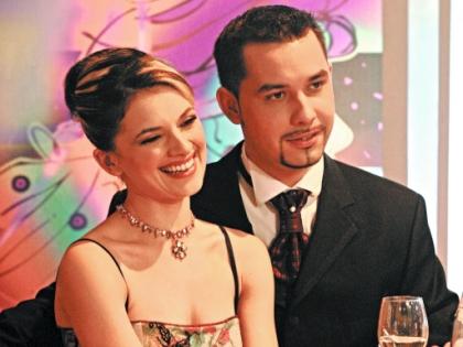 Наталья Юнникова с мужем Антоном Федотовым