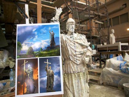 Проект памятника Владимиру
