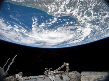 Вид на Землю из МКС