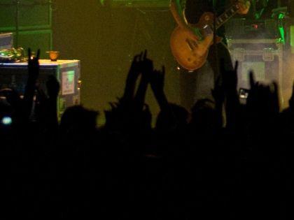 На панк-концерте было около 200 человек