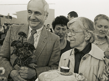 Марк Захаров и Татьяна Пельтцер