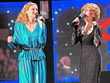 Ольга Зарубина и певица Натали