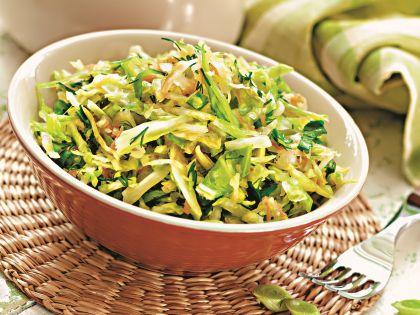 Пример блюда для зеленой диеты