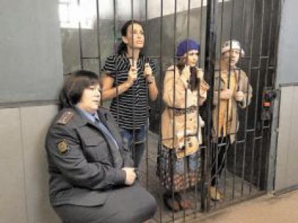 Эвелина Блёданс в тюрьме