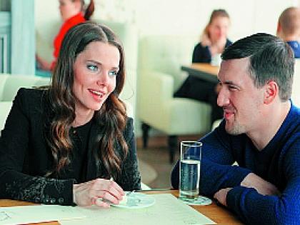 Елизавета Боярская и Артур Смольянинов