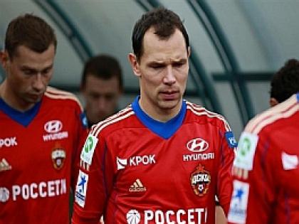 Сергей Игнашевич в форме ФК ЦСКА