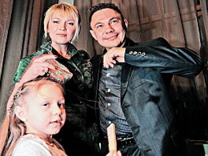 Константин Цзю с женой Натальей