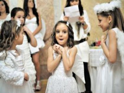 Дети на конкурсе красоты